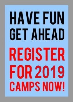 Ratamacamp Register for 2019 Camps Now